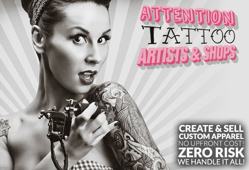Merch Stores For Tattoo Artists