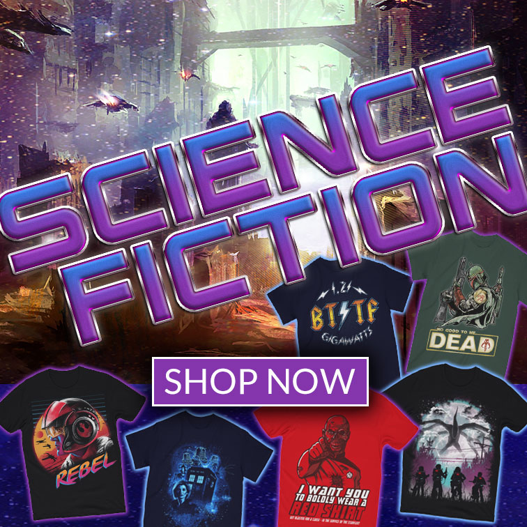 Science Fiction T-Shirts