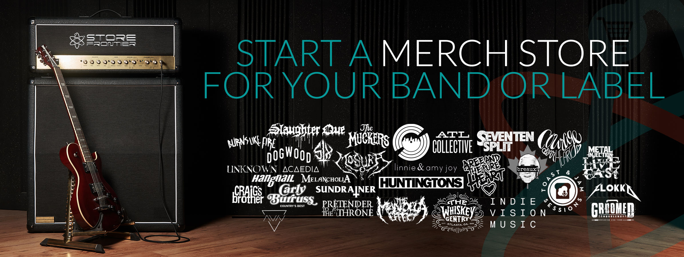 Custom Merch Stores For Bands